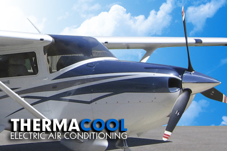 electric aircraft air conditioning cessna corvalis stc upgrades